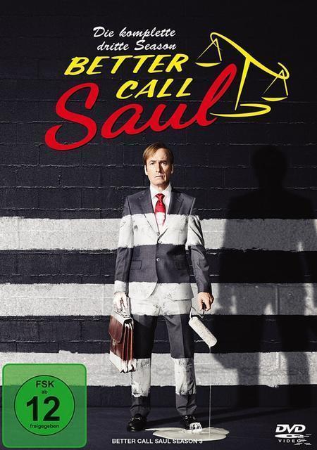 Better call Saul - Die komplette dritte Season DVD-Box (DVD) für 37,46 Euro