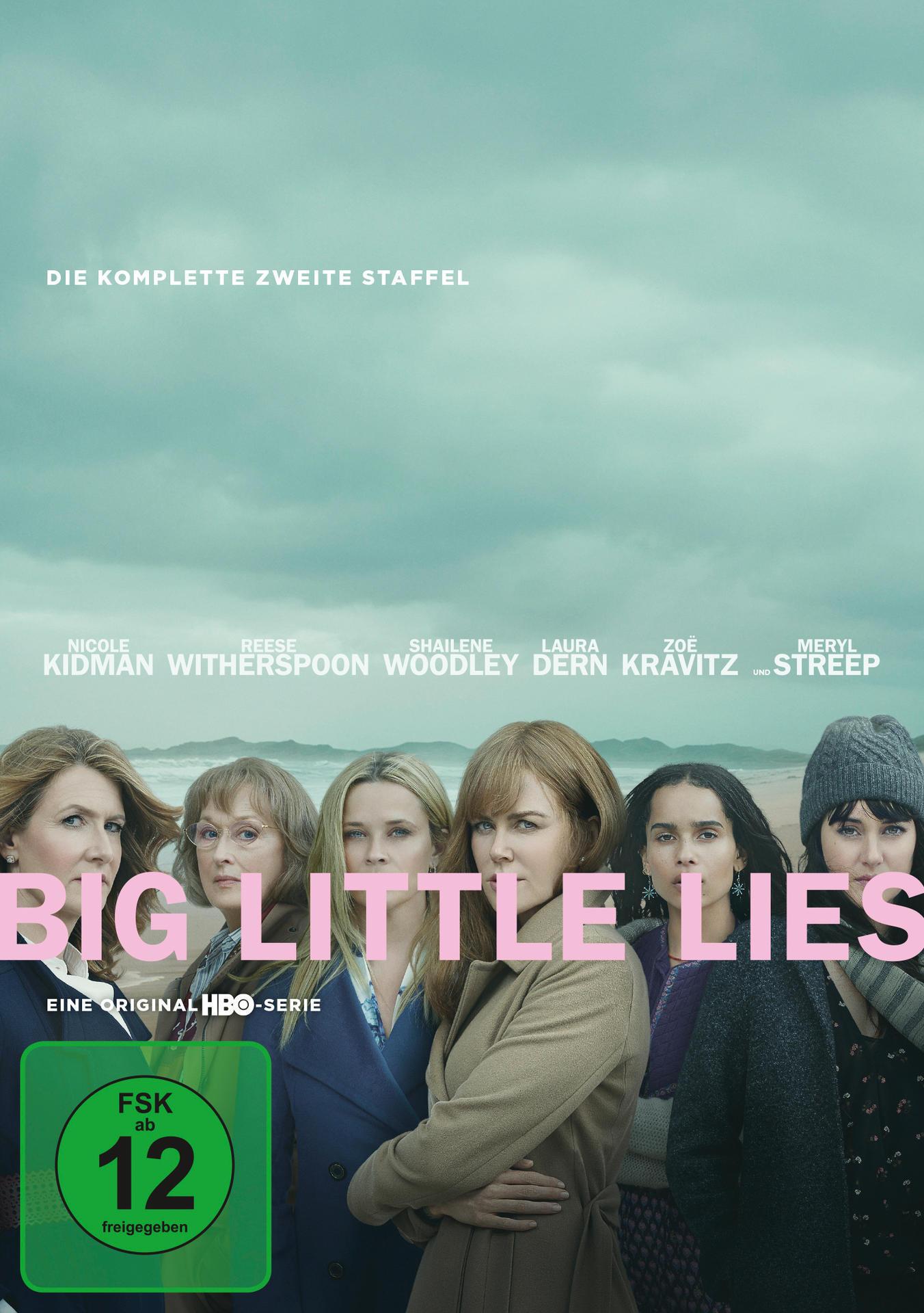 Big Little Lies - Staffel 2 - 2 Disc DVD (DVD) für 23,46 Euro