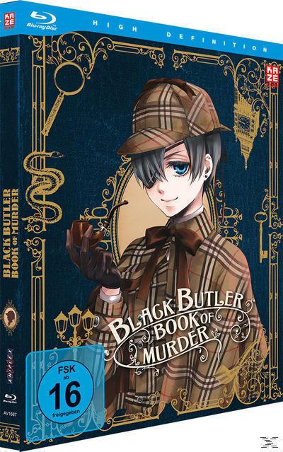 Black Butler - Book of Murder (BLU-RAY) für 39,96 Euro