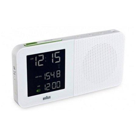 Braun BNC 010 Funkwecker mit Radio Multibandeinstellung Beleuchtung für 60,46 Euro