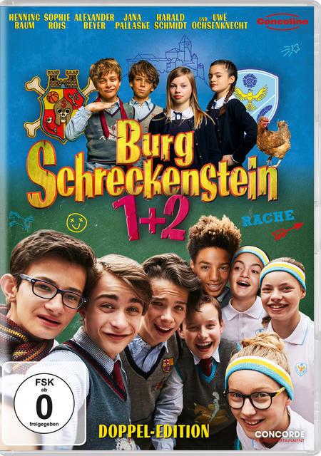 Burg Schreckenstein 1+2 (DVD) für 16,96 Euro