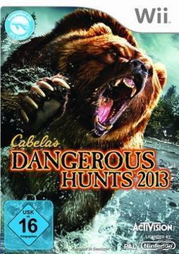 Cabela's Dangerous Hunts 2013 (Nintendo WII) für 37,96 Euro