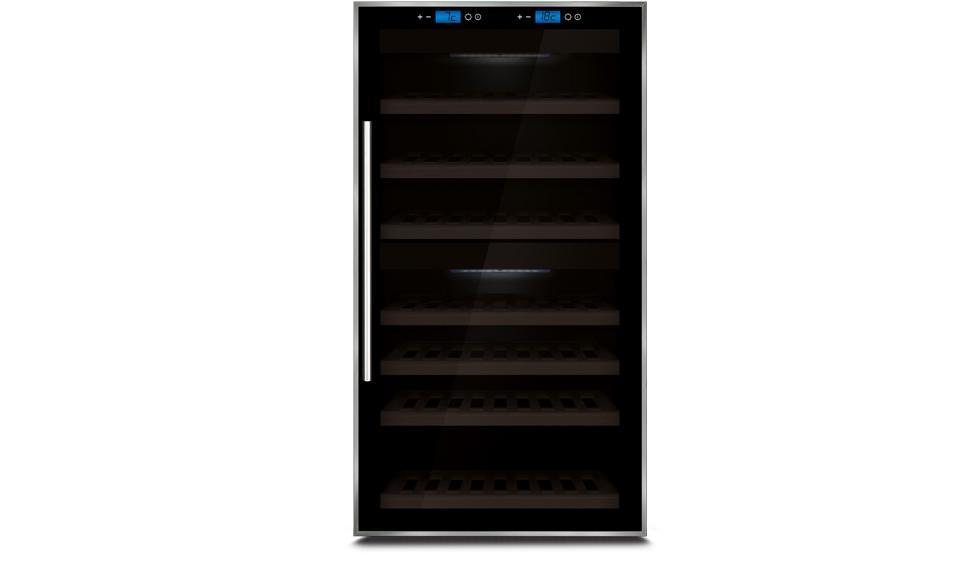Caso Wine Master Touch 66 Weinkühlschrank 2 Temperaturzonen 66 Flaschen  für 877,00 Euro