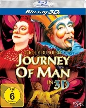 Cirque du Soleil-Journey of man-3D Version (BLU-RAY 3D) für 24,96 Euro