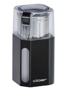 Cloer 7589 Kaffeemühle 70g Edelstahlmesser Sicherheitsverriegelung für 28,46 Euro
