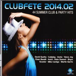 Clubfete 2014.02-44 Summer Club & Party Hits (VARIOUS) für 21,96 Euro