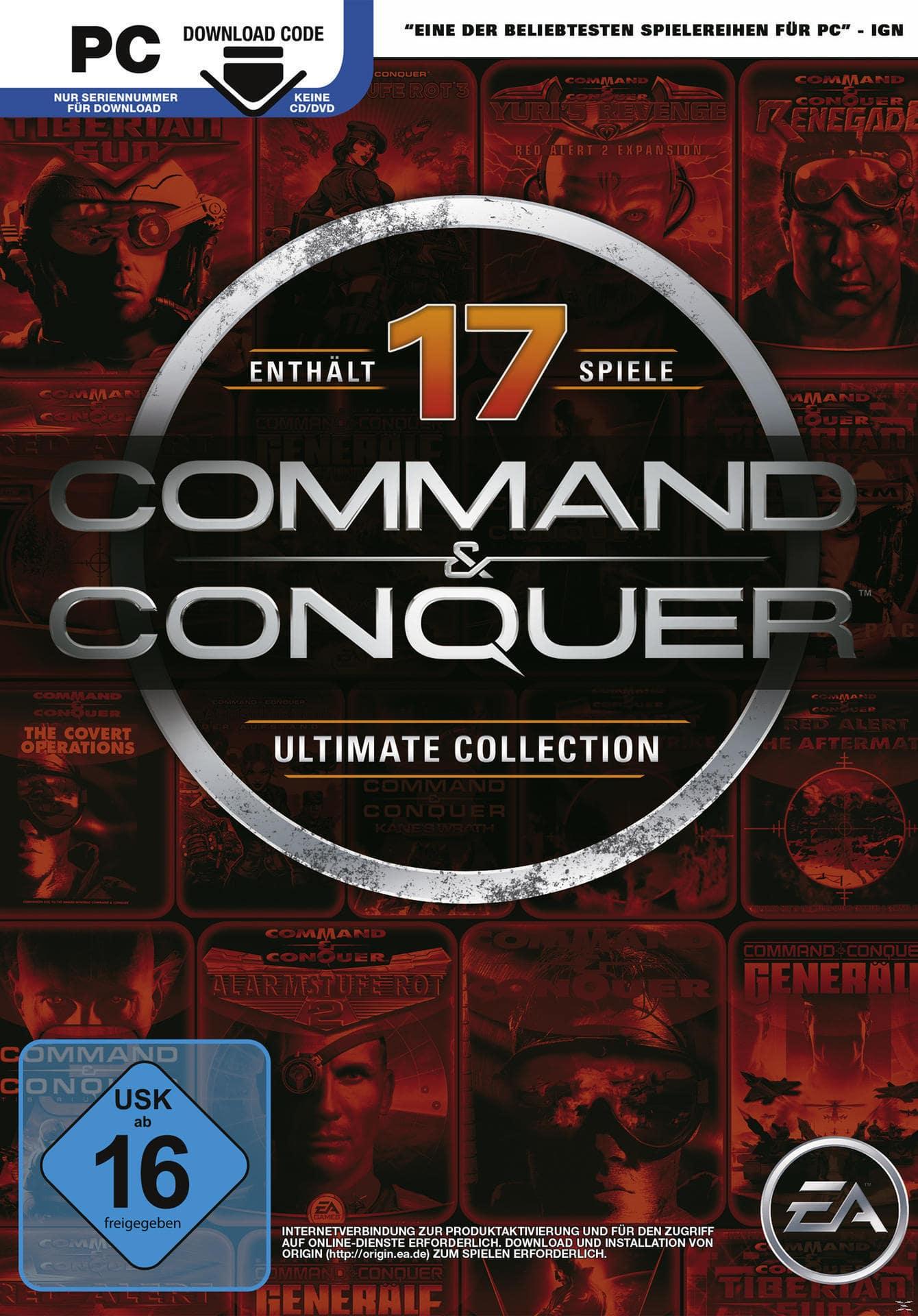 Command & Conquer Ultimate Collection (PC) für 17,46 Euro