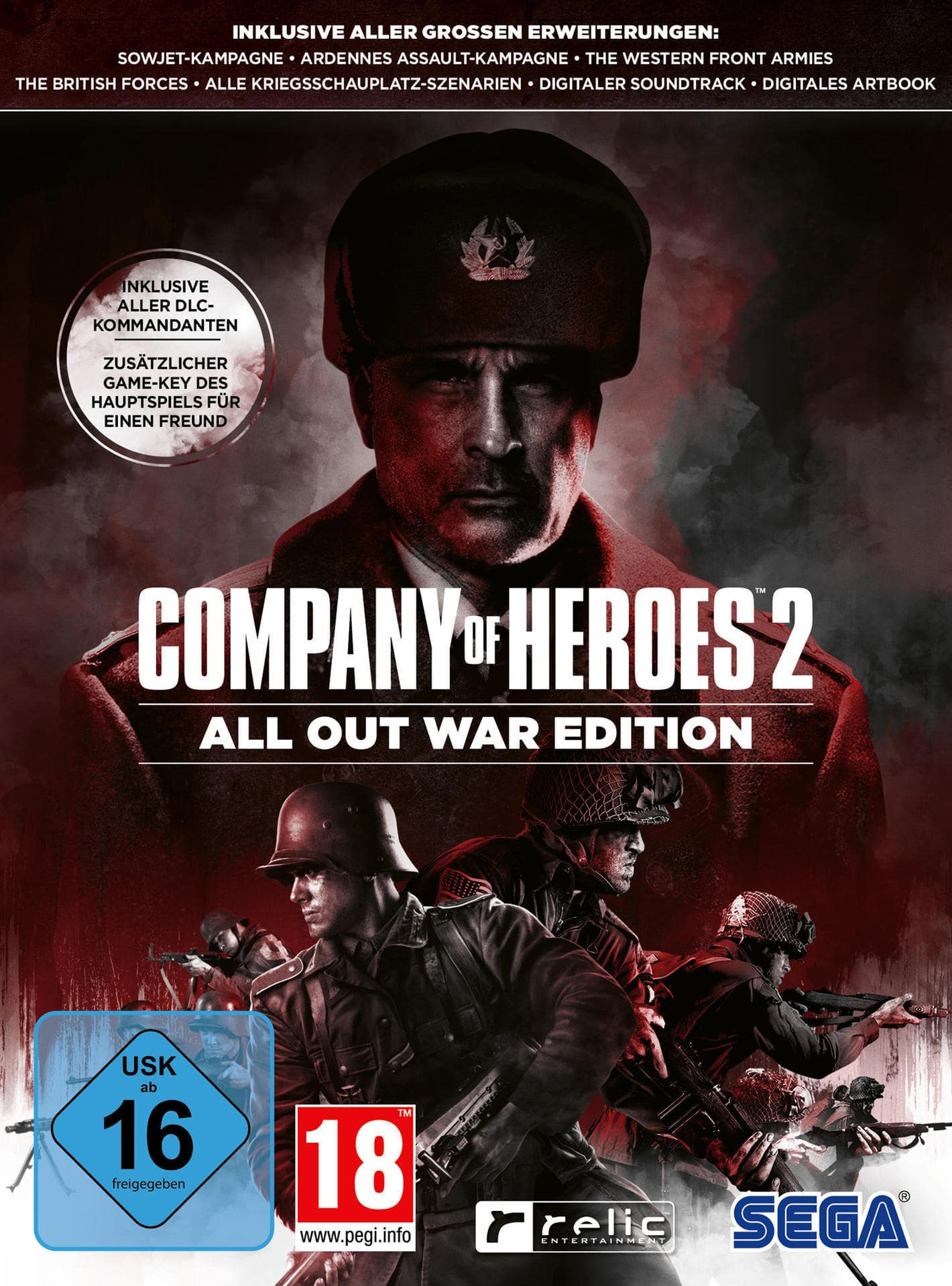 Company of Heroes 2: All Out War Edition (PC) für 30,96 Euro