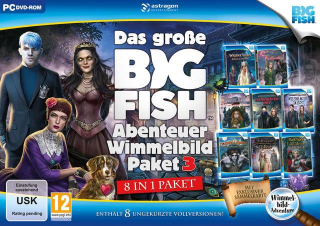 Das große Big Fish Abenteuer Wimmelbild-Paket 3 (PC) für 16,96 Euro