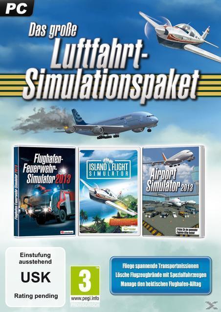 Das große Luftfahrt-Simulations-Paket (PC) für 16,46 Euro