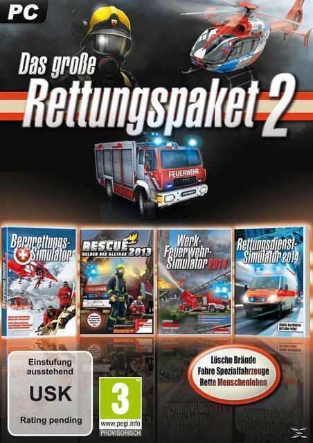 Das große Rettungs-Simulationspaket 2 (PC) für 16,96 Euro