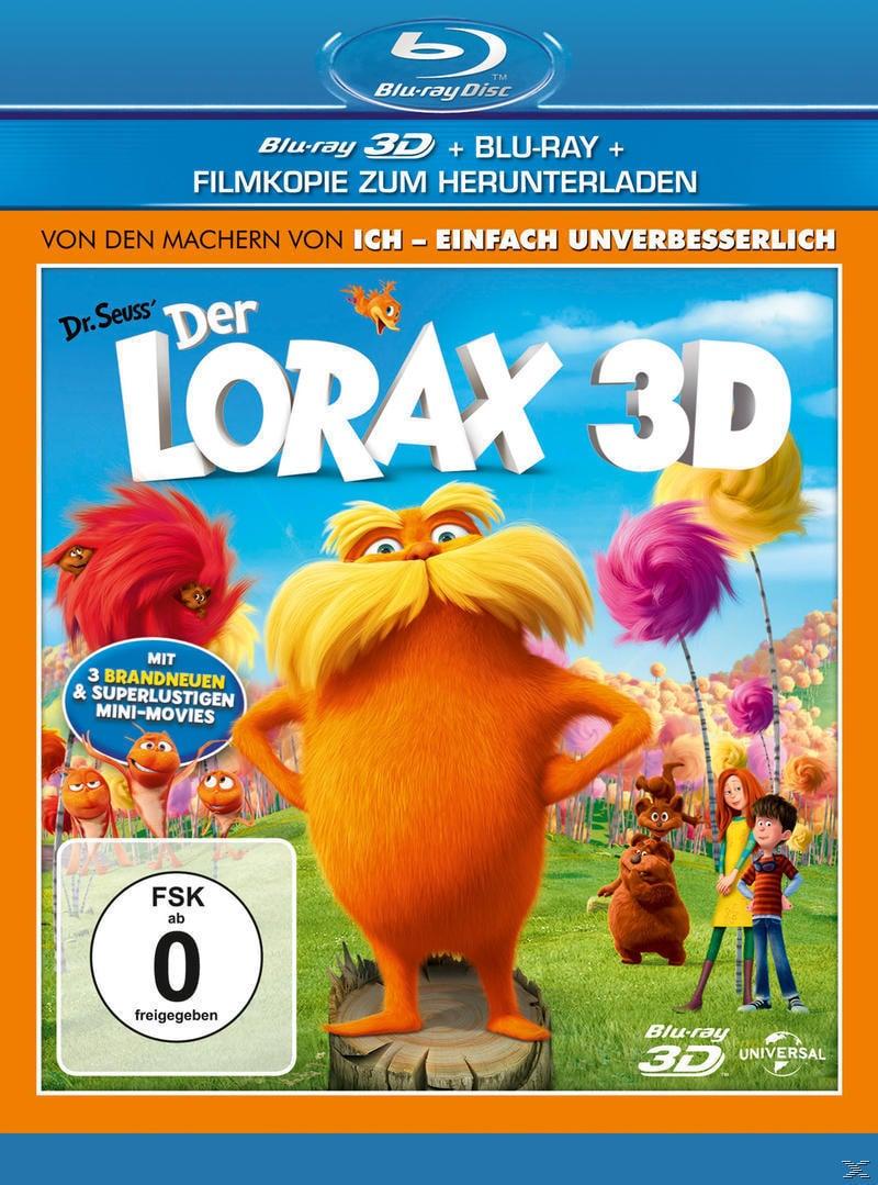 Der Lorax (BLU-RAY 3D) für 23,46 Euro
