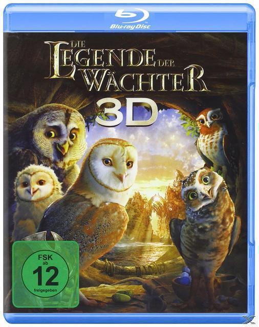 Die Legende der Wächter (BLU-RAY 3D) für 18,96 Euro