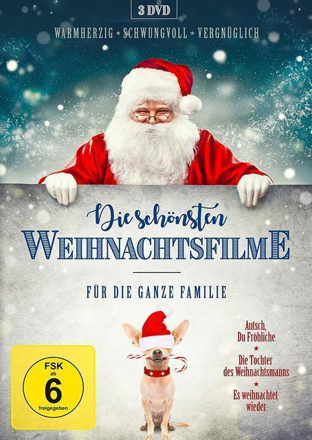 Die schönsten Weihnachtsfilme für die ganze Familie (DVD) für 16,96 Euro