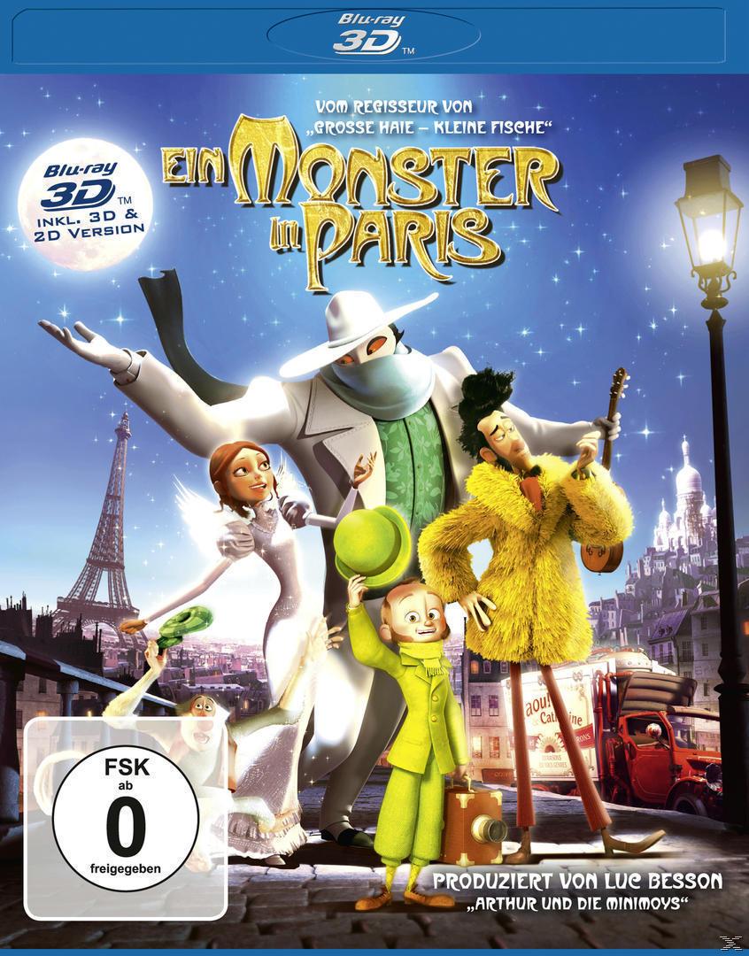 Ein Monster in Paris (BLU-RAY 3D) für 17,46 Euro