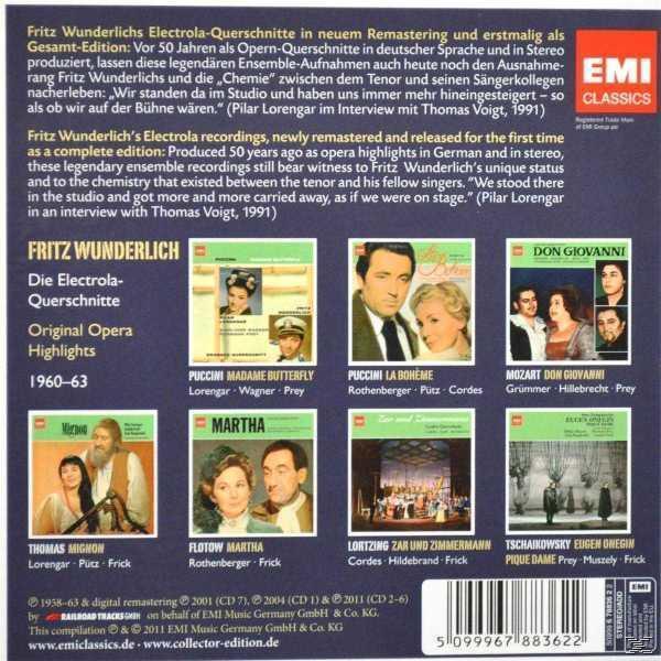 Electrola - Querschnitte 1960-63 (Fritz Wunderlich) für 23,46 Euro