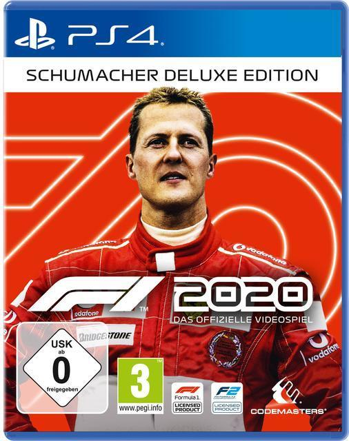 F1 2020 Schumacher Deluxe Edition (PlayStation 4) für 69,96 Euro