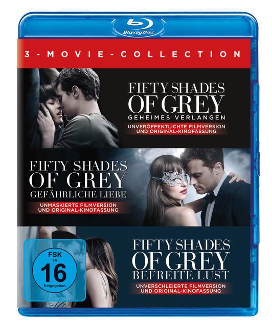 Fifty Shades of Grey 1-3 Movie Edition (BLU-RAY) für 24,46 Euro