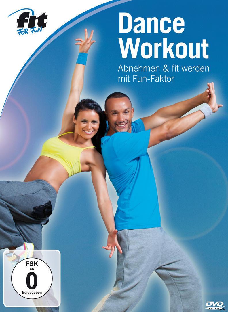 Fit For Fun - Dance Workout - Abnehmen & fit werden mit Fun-Faktor (DVD) für 19,46 Euro