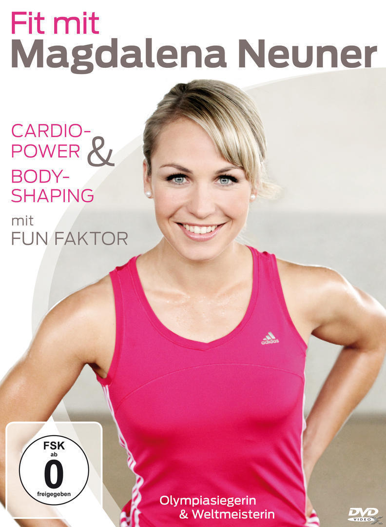 Fit mit Madgalena Neuner - Cardio-Power & Bodyshaping mit Fun Faktor (DVD) für 20,46 Euro