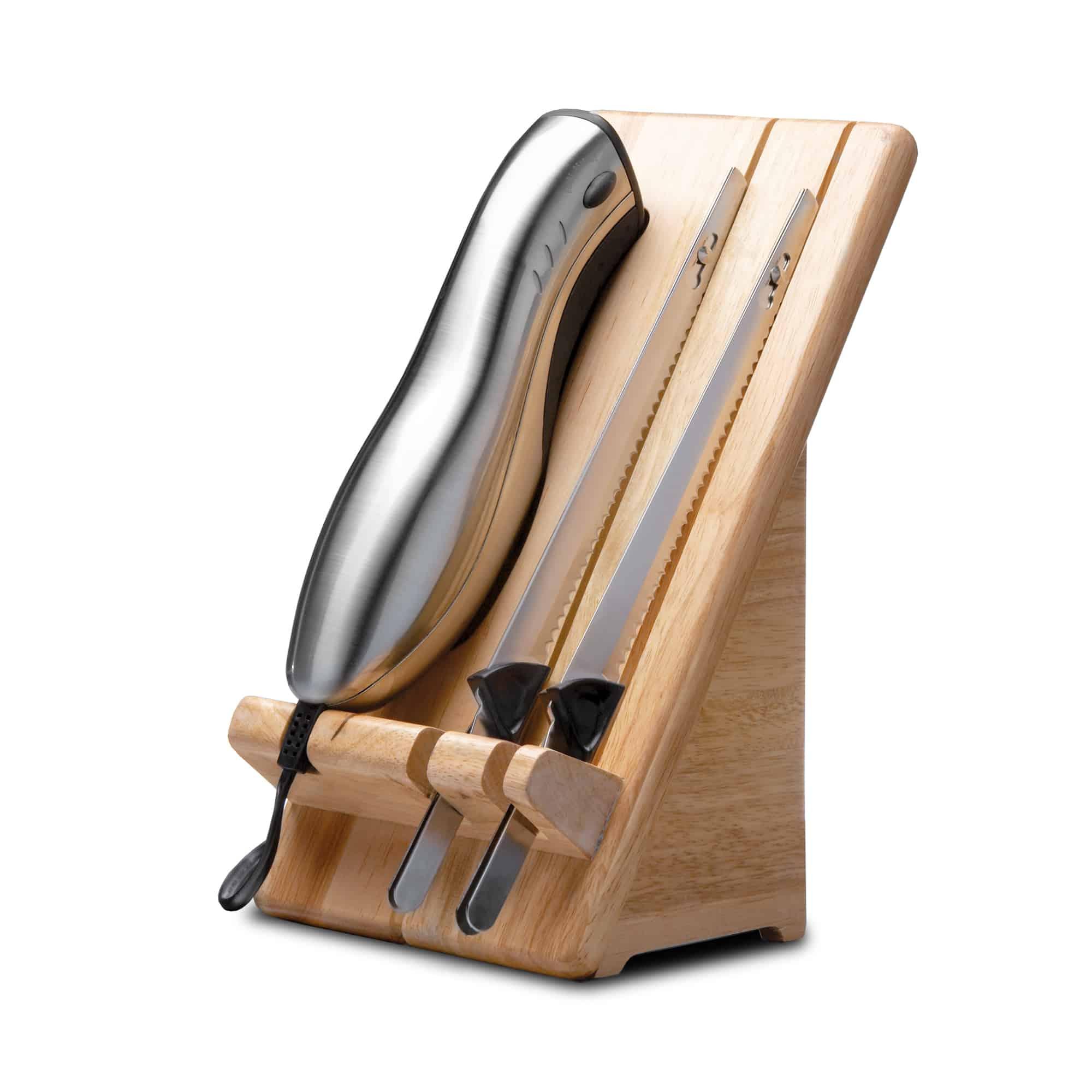 Gastroback 41600 Design Elektromesser Home Culture Inox-Touch-Gehäuse 2 Klingen für 50,46 Euro