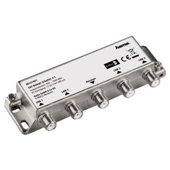 Hama 00121601 SAT-DiSEqC-Schalter 4-1 für 24,96 Euro