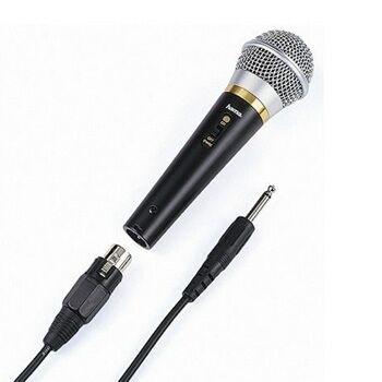 """Hama 00046060 Dynamisches Mikrofon """"DM 60"""" für 21,96 Euro"""