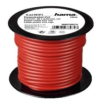 Hama 00078974 Powerkabel FLY 2,5 mm² 10 m auf Plastikspule  für 16,46 Euro
