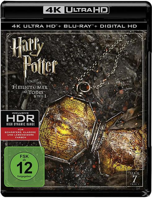 Harry Potter und die Heiligtümer des Todes - Teil 1 (4K Ultra HD BLU-RAY + BLU-RAY) für 20,96 Euro