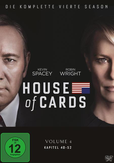 House of Cards - Staffel 4 DVD-Box (DVD) für 22,96 Euro
