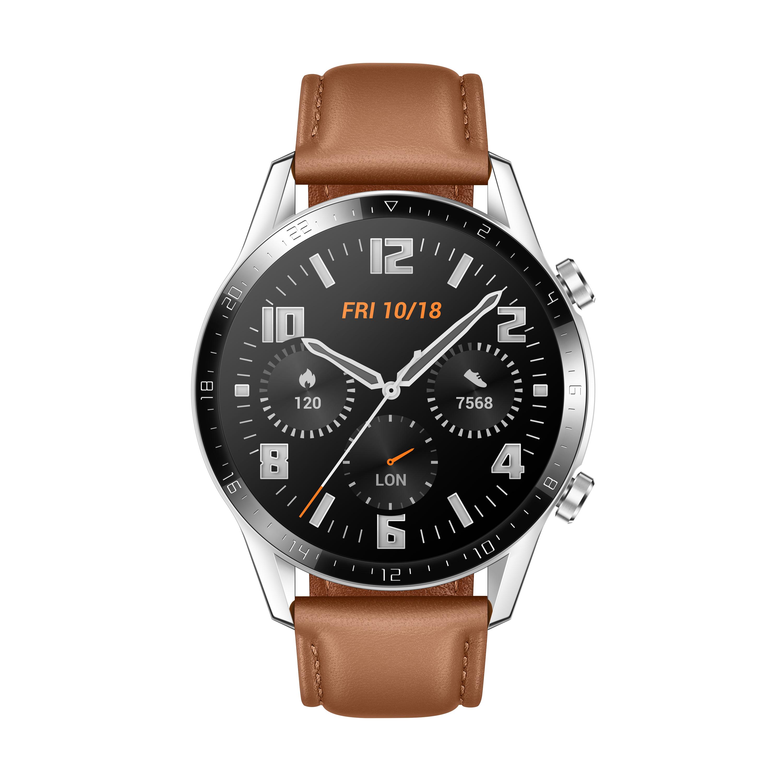 Huawei Watch GT2 46mm Classic (Lederarmband) für 218,96 Euro