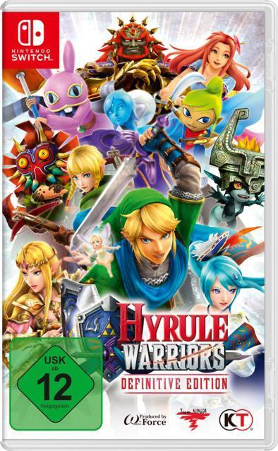 Hyrule Warriors: Definitive Edition (Nintendo Switch) für 47,46 Euro