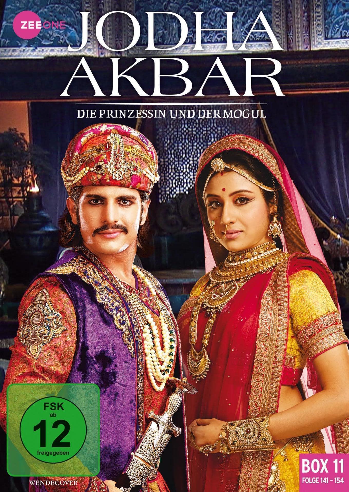 Jodha Akbar - Die Prinzessin und der Mogul (Box 11) (Folge 141-154) DVD-Box (DVD) für 19,46 Euro