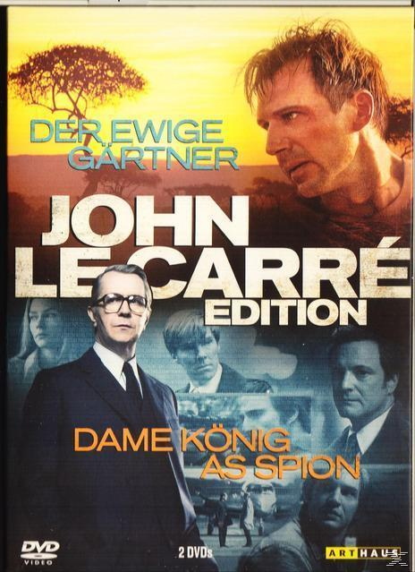John le Carré Edition: Der ewige Gärtner/ Dame König As Spion DVD-Box (DVD) für 16,46 Euro