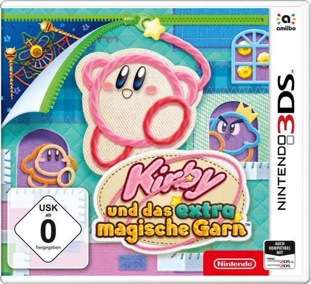 Kirby und das extra magische Garn (Nintendo 3DS) für 31,96 Euro