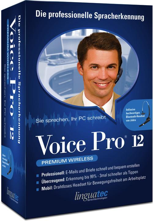 Linguatec Voice Pro 12 Premium Wireless für 243,96 Euro