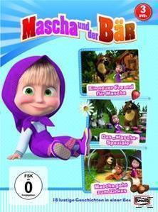 Mascha und der Bär 1, 2 & 4 (DVD) für 20,46 Euro