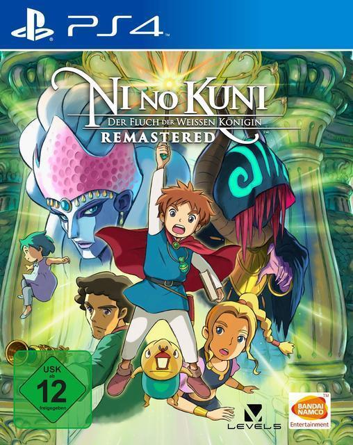 Ni no Kuni: Der Fluch der Weißen Königin Remastered (PlayStation 4) für 22,46 Euro