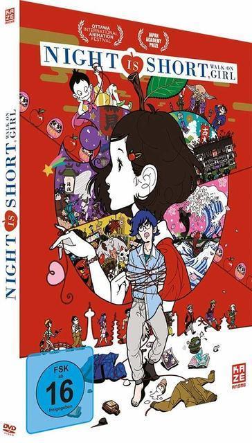 Night Is Short, Walk On Girl (DVD) für 24,96 Euro