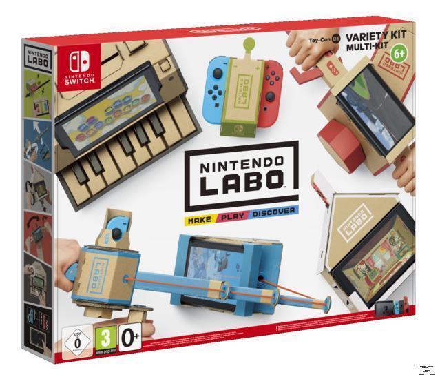 Nintendo Labo: Toy-Con 01 Multi-Set (Nintendo Switch) für 50,96 Euro