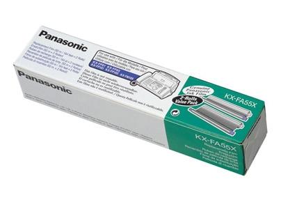 Panasonic KX-FA55X Ersatzfilm Doppelpack mit 2 Filmrollen für 30,46 Euro