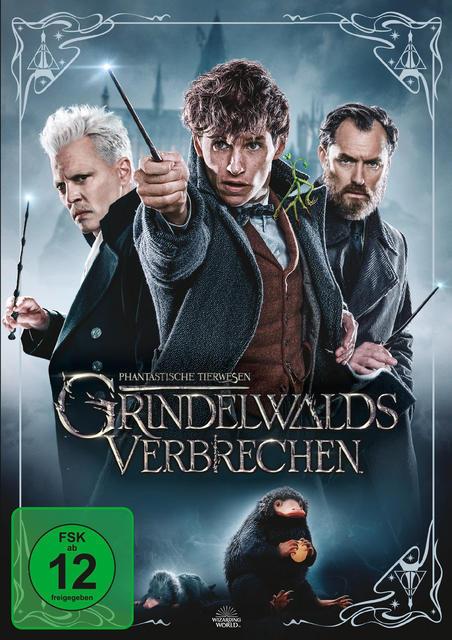 Phantastische Tierwesen: Grindelwalds Verbrechen (DVD) für 16,46 Euro