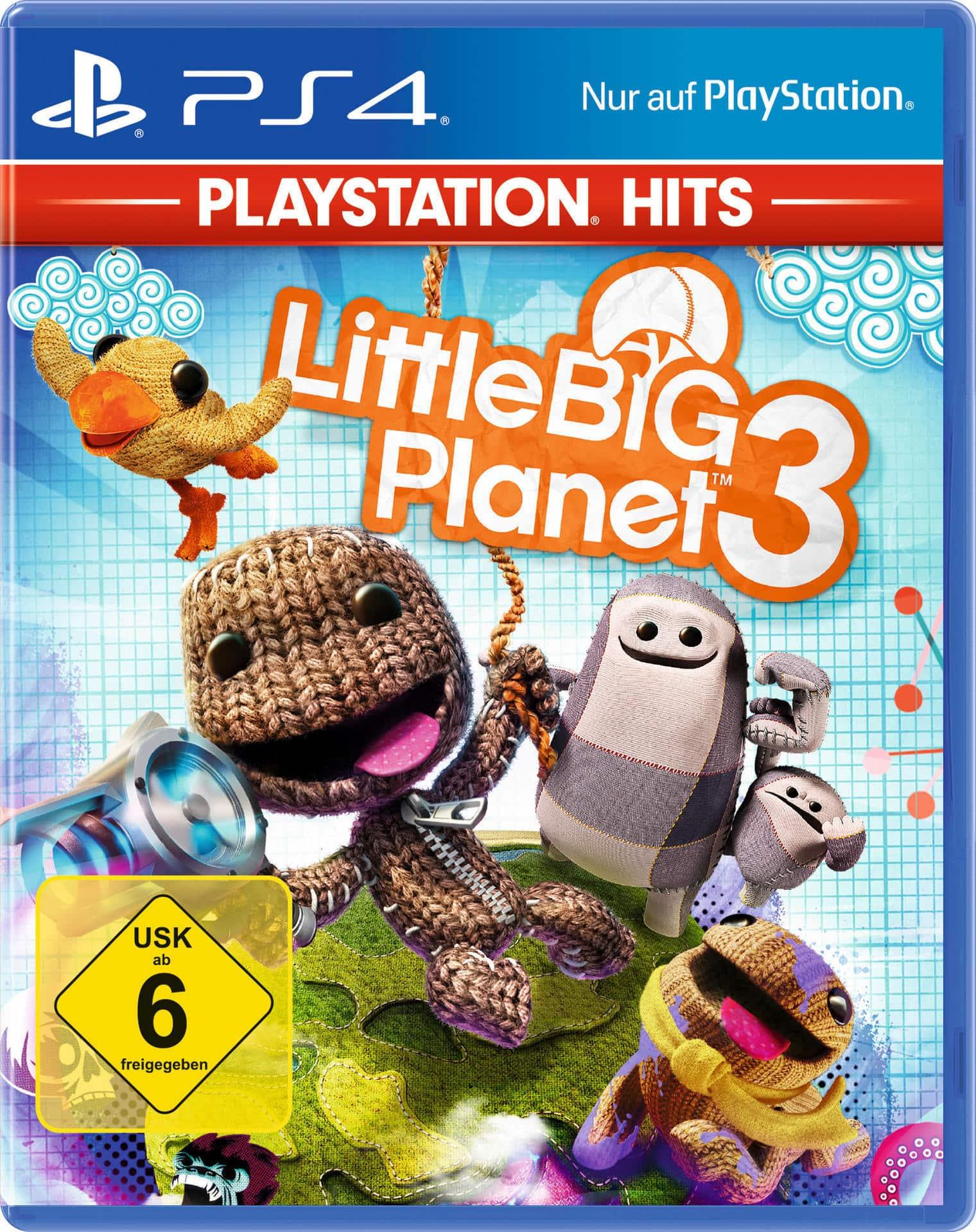 ak tronic PlayStation Hits: Little Big Planet 3 (PlayStation 4) 26607