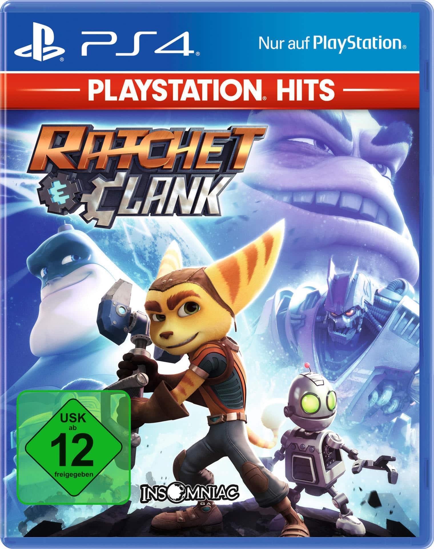 ak tronic PlayStation Hits: Ratchet & Clank (PlayStation 4) 26603