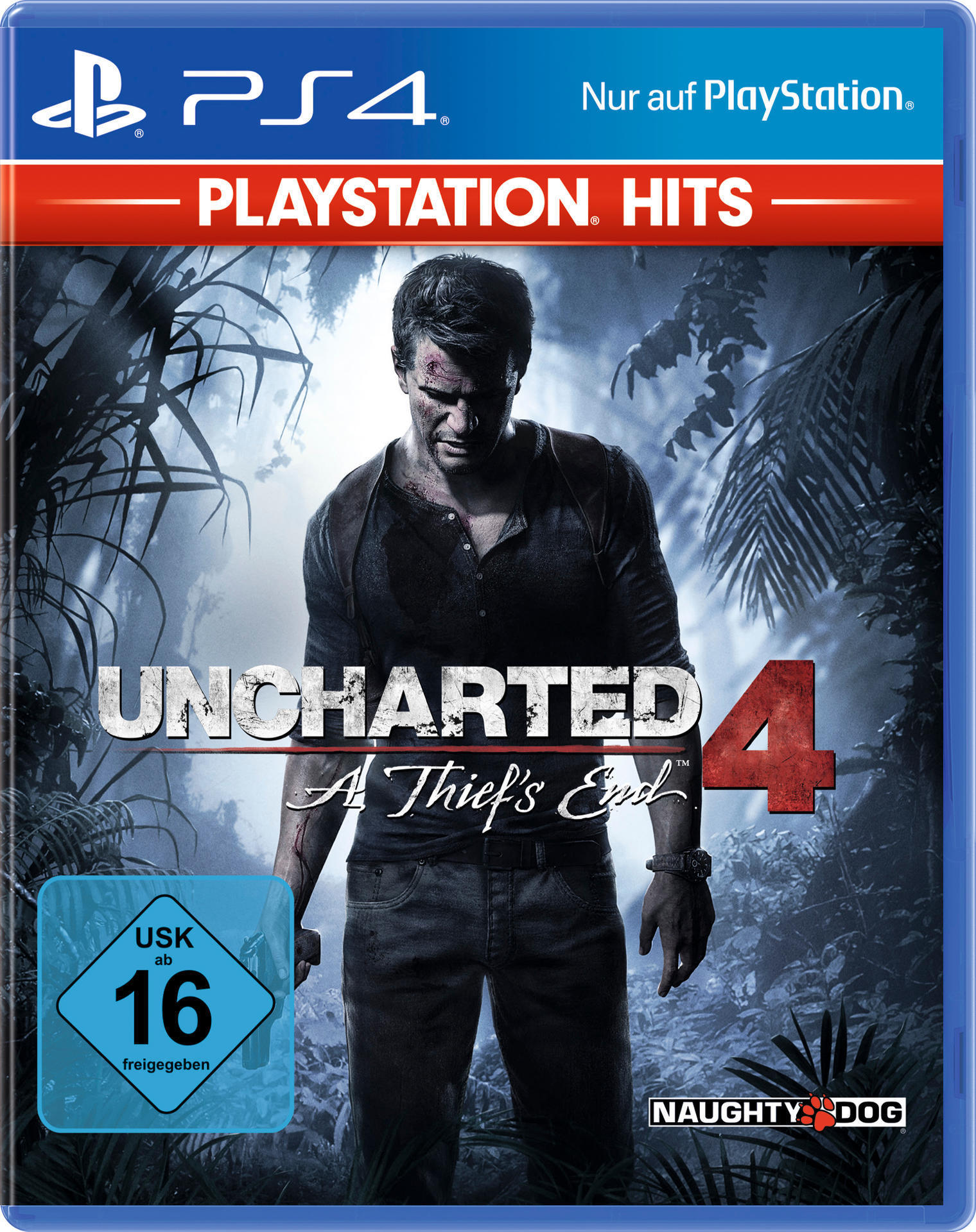 ak tronic PlayStation Hits: Uncharted 4: A Thiefs End (PlayStation 4) 26605