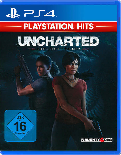 ak tronic PlayStation Hits: Uncharted - The Lost Legacy (PlayStation 4) 26634