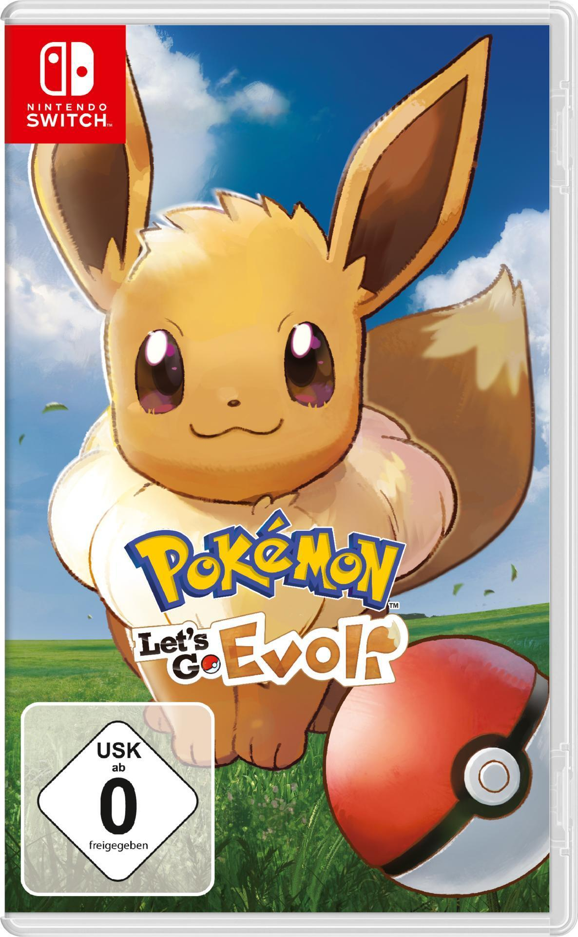 Pokémon: Let's Go, Evoli! (Nintendo Switch) für 49,46 Euro