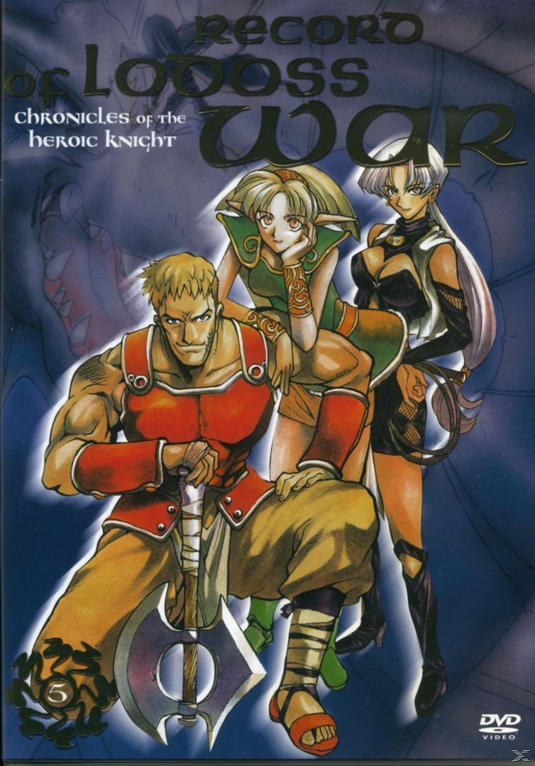 Record of Lodoss War - Chronicles of the Heroic Knights - Vol.5 (DVD) für 20,96 Euro