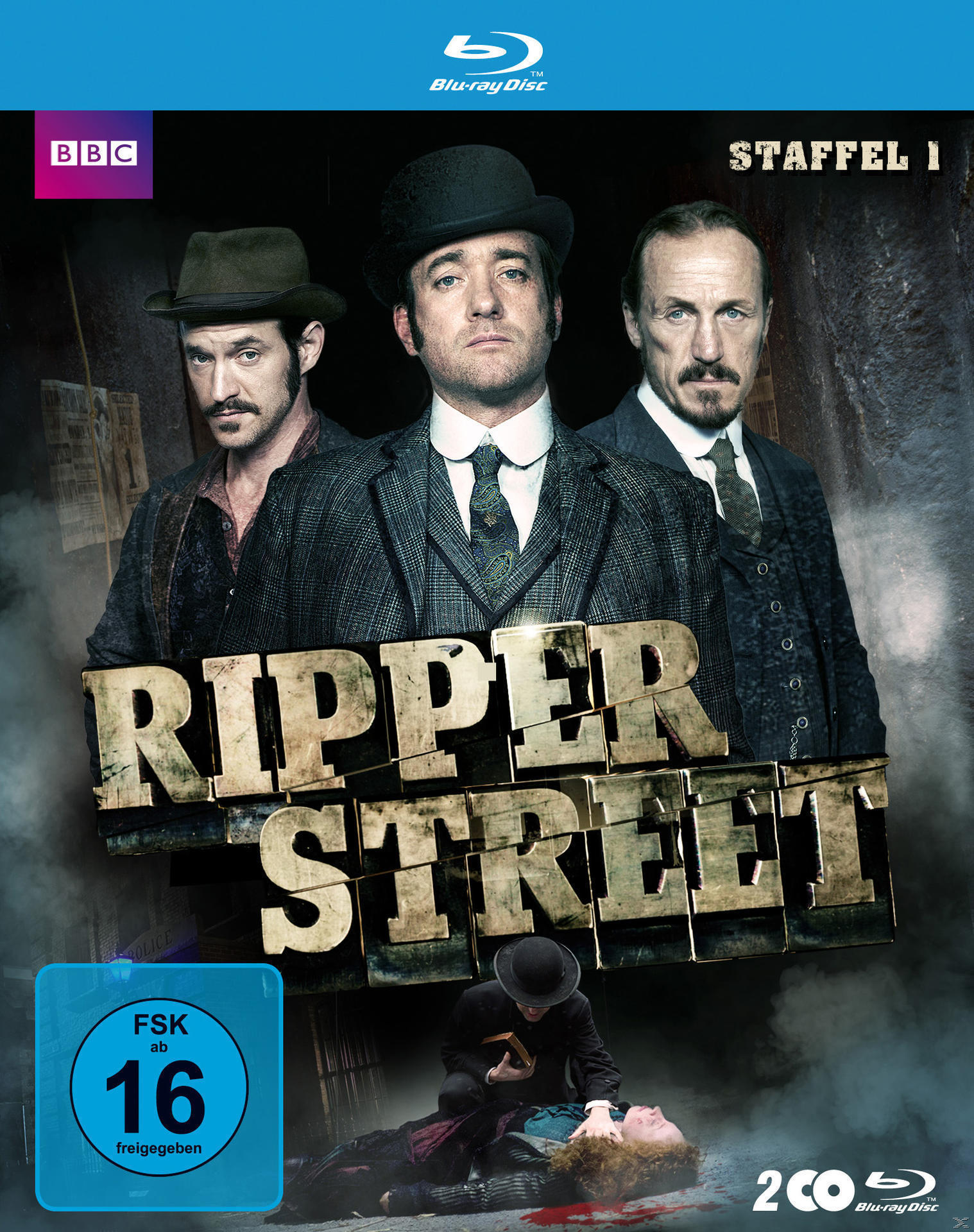 Ripper Street - Staffel 1 (BLU-RAY) für 19,46 Euro