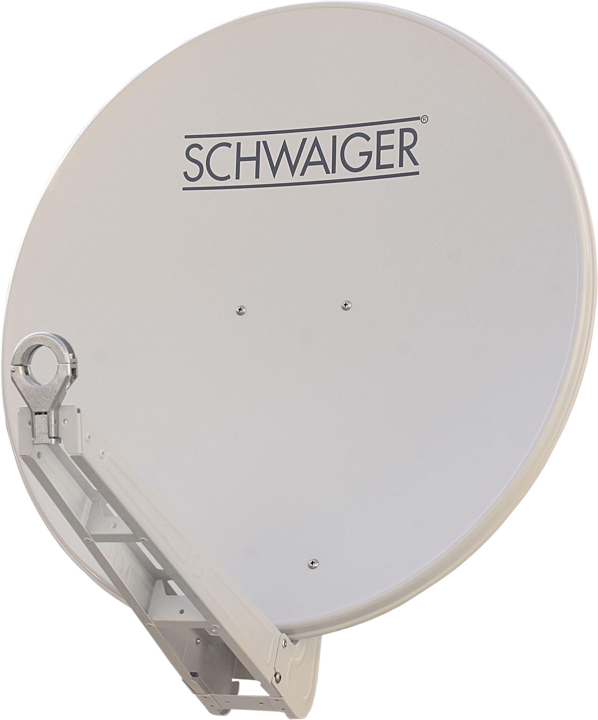 Schwaiger SPI075P Satellitenantenne Alu-Spiegel 75cm Premiumklasse für 112,96 Euro